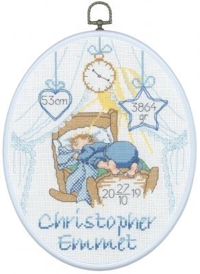 click here to view larger image of Christopher -  Boy (counted cross stitch kit)
