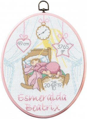 click here to view larger image of Esmeralda - Girl (counted cross stitch kit)