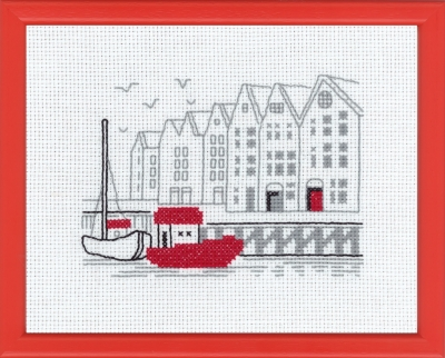 click here to view larger image of Bergen (counted cross stitch kit)