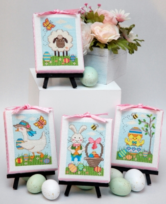 click here to view larger image of Easter Cuties (4 Designs) (chart)