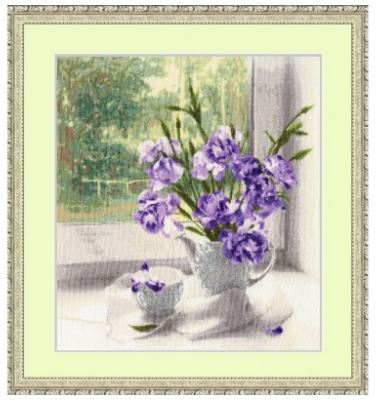 click here to view larger image of Bouquet for Mother (counted cross stitch kit)