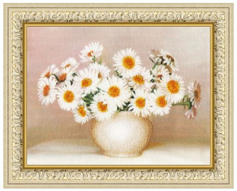 click here to view larger image of Daisy Joy (counted cross stitch kit)