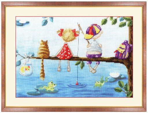 click here to view larger image of Children of the Tree (counted cross stitch kit)
