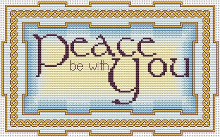 click here to view larger image of Peace Be With You (chart)