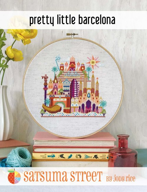 click here to view larger image of Pretty Little Barcelona (chart)