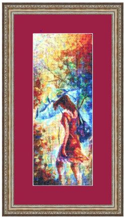 click here to view larger image of Autumn Melody (counted cross stitch kit)