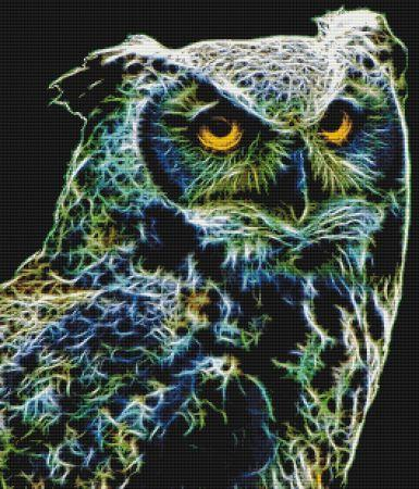click here to view larger image of Fractalius Owl (chart)