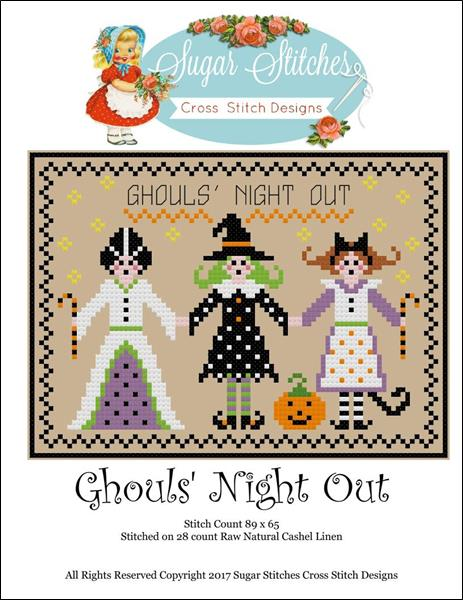 click here to view larger image of Ghouls Night Out (chart)
