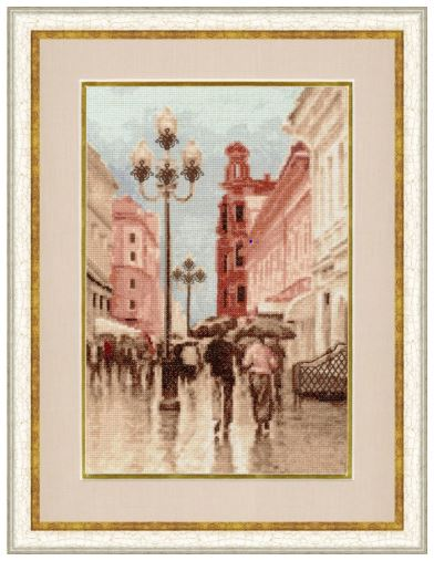 click here to view larger image of Arbat (counted cross stitch kit)