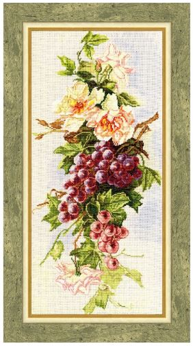 click here to view larger image of Autumn Gifts (counted cross stitch kit)
