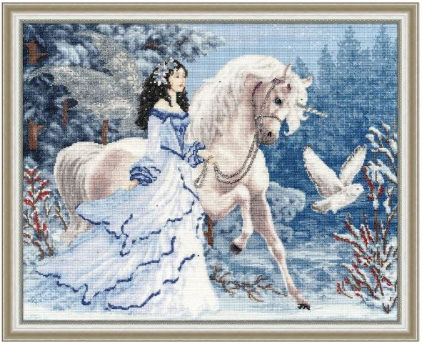 click here to view larger image of Magic Forest (counted cross stitch kit)