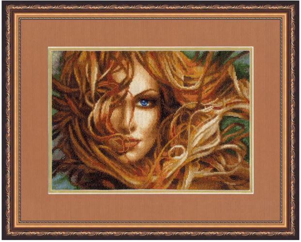 click here to view larger image of Girl (counted cross stitch kit)
