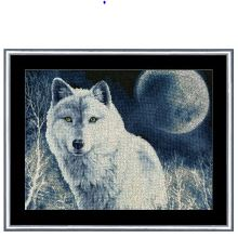 click here to view larger image of White Wolf (counted cross stitch kit)