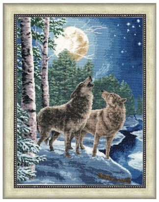 click here to view larger image of Night Song (counted cross stitch kit)