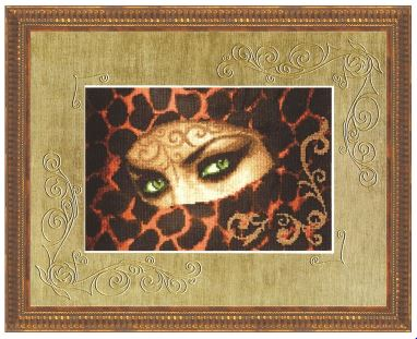 click here to view larger image of Emerald (counted cross stitch kit)