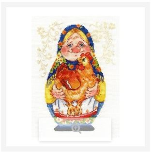 click here to view larger image of Grandma (counted cross stitch kit)