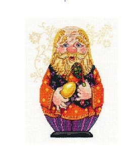 click here to view larger image of Grandpa (counted cross stitch kit)