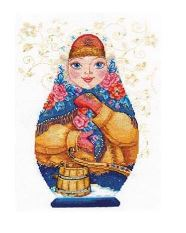 click here to view larger image of Winter Beauty (counted cross stitch kit)