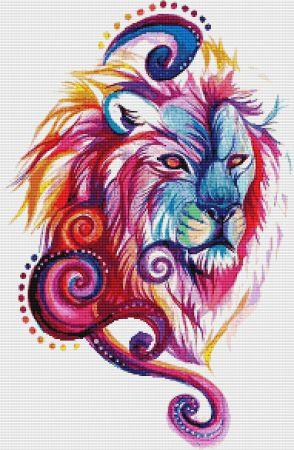 click here to view larger image of Lion Design (chart)