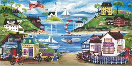 click here to view larger image of Lovely Seaside (chart)