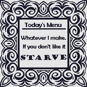 click here to view larger image of Starve (chart)