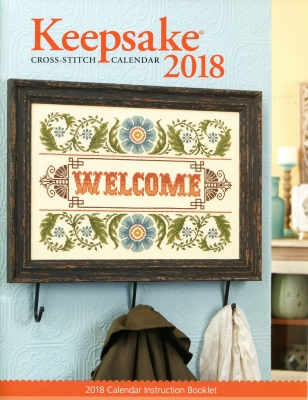 click here to view larger image of Cross Stitch and Needlework 2018 Keepsake Calendar (chart)