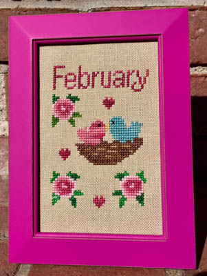 Bitty February - click here for more details about chart