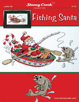 click here to view larger image of Fishing Santa (chart)