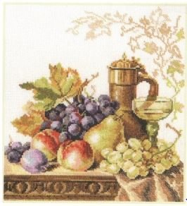 click here to view larger image of Sunny Still Life (counted cross stitch kit)