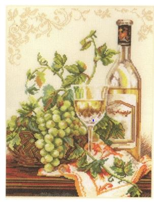 click here to view larger image of Chardonnay (counted cross stitch kit)