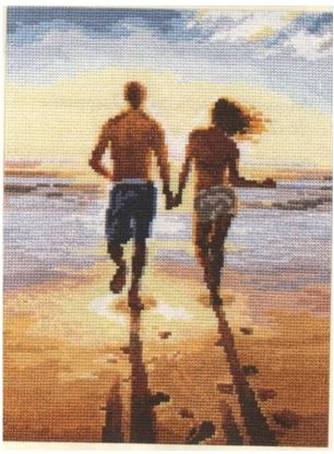 click here to view larger image of To The Sea (counted cross stitch kit)