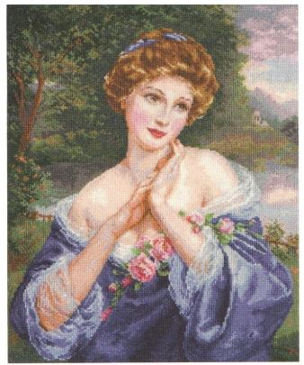 click here to view larger image of Evening Dreams (counted cross stitch kit)