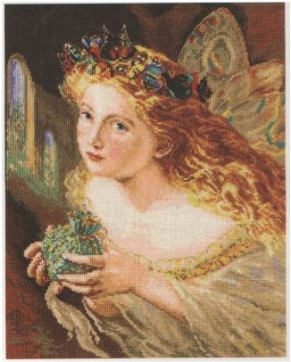 click here to view larger image of Fairy (counted cross stitch kit)