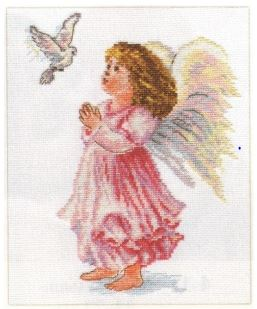 click here to view larger image of Blessings (counted cross stitch kit)