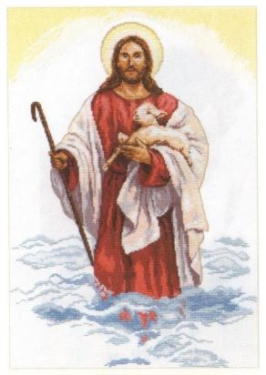 click here to view larger image of Christ (counted cross stitch kit)