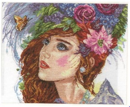 click here to view larger image of Birth of the Spring (counted cross stitch kit)