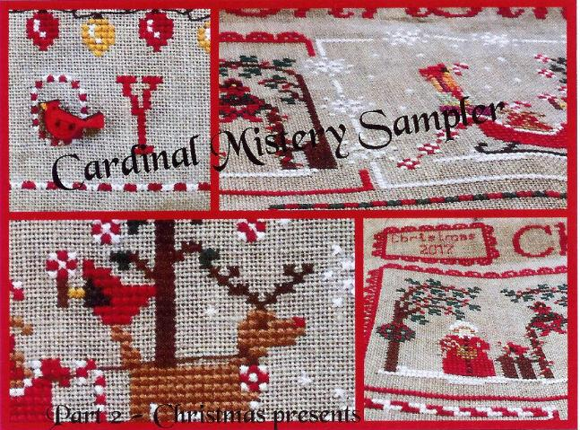 click here to view larger image of Cardinal Mystery Sampler - Part 2 of 4 (chart)