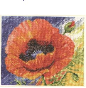 click here to view larger image of Kiss of Summer (counted cross stitch kit)