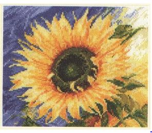 click here to view larger image of Messenger of the Sun (counted cross stitch kit)