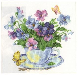 click here to view larger image of Poppies (counted cross stitch kit)