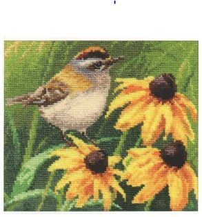 click here to view larger image of Goldcrest (counted cross stitch kit)