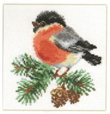 click here to view larger image of Bullfinch (counted cross stitch kit)