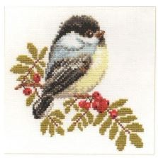 click here to view larger image of Chickadee (counted cross stitch kit)