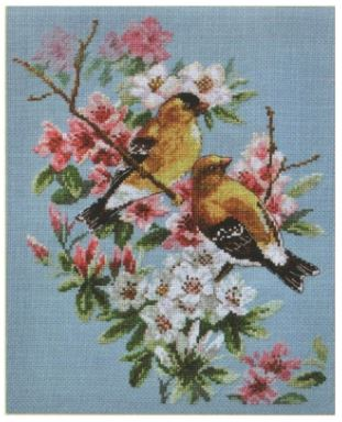click here to view larger image of Spring Song (counted cross stitch kit)