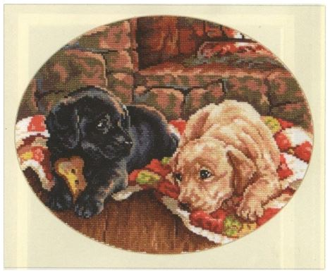 click here to view larger image of Dzim and Beam (counted cross stitch kit)