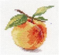 click here to view larger image of Peach (counted cross stitch kit)