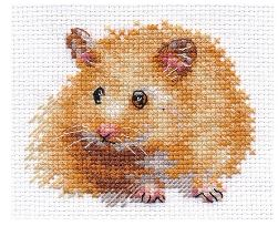 click here to view larger image of Hamster (counted cross stitch kit)