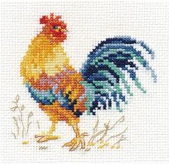 click here to view larger image of Rooster (counted cross stitch kit)