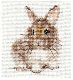 click here to view larger image of Rabbit (counted cross stitch kit)