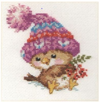 click here to view larger image of Little Sparrow (counted cross stitch kit)